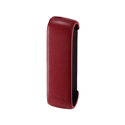 IQOS™ Leather Sleeve, Deep Red, large